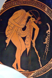 Vomit.Greek.Vase