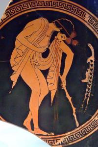 Vomit.Greek.Vase